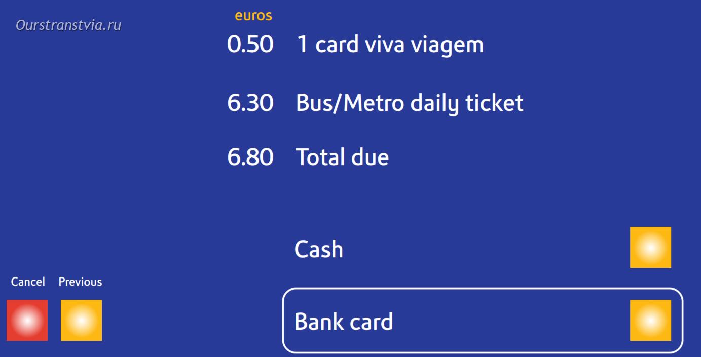 Как купить проездной в Лиссабоне